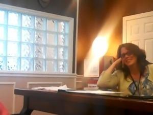 BJ in Office Real Hidden Camera sc.1