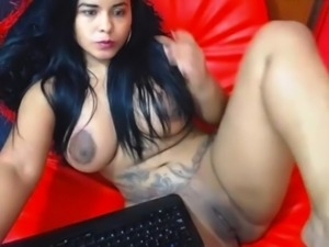 big dark areolas with fat puss