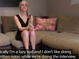 Big breasted blonde Jasmine proves she got what it takes