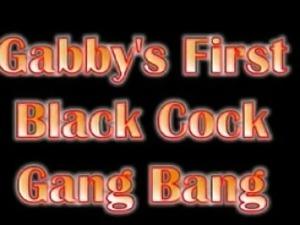 Gabbys gangbang that is BBC