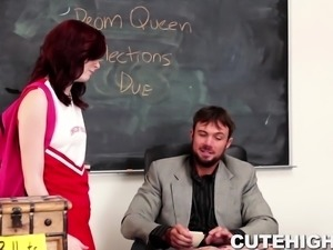 Wannabe Prom Queen Punished