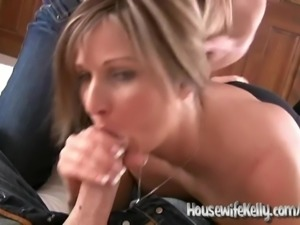 Brandi Love & Housewife Kelly Accidental Creampie