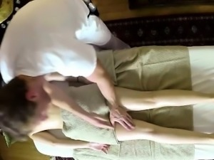 Nasty masseur sexing his customers