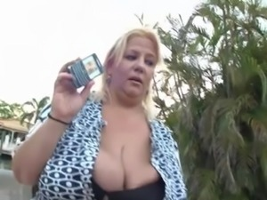 Mature BBW Exposed And Fucked
