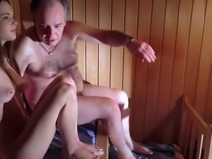 Amazing Beautiful Teen is Fucking an Old Man