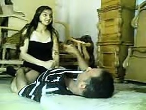 Arabic undresses his dick
