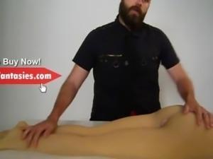 Pipedream Fuck Me Silly 3 Foot Fetish Masturbator Sex Doll - Men's Sex Toys