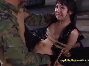 Jav Teen Cosplay Spy Gets Ambushed Bound Fucked Hard Deep Throat Bukkake