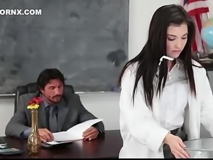 Hot fucked by chemistry teacher