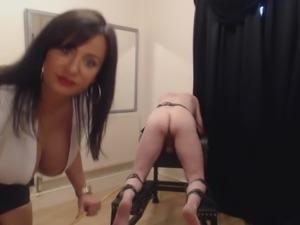 Mistress Caning Punishment
