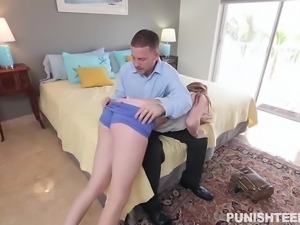 leigh rose got her ass punished