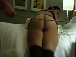 Mutual Spanking punishment Jerry and Annouk