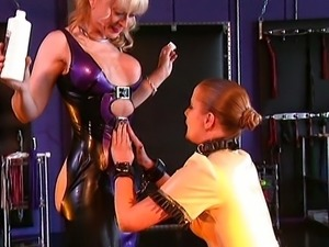 She is my slave