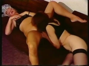 Licking Hairy Pussy
