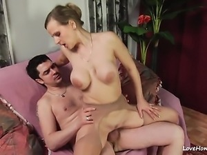 Doggy style treatment for her hungry experienced pussy