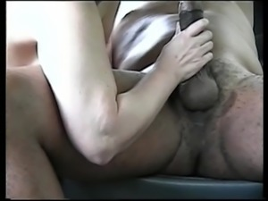 Milf sucking my black cock 2