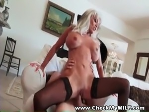 Check My MILF granny with huge tits fucked by young bull