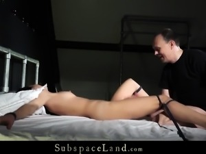 Rough Bdsm With Submissive Kinky Slave Punishment