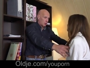 Mr Teacher, my young wet pussy needs a sex lesson