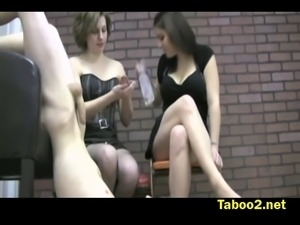 Katy and Miranda punish boys