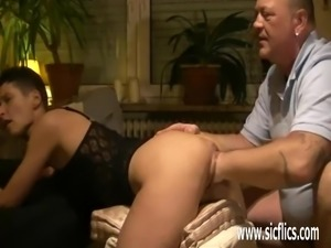 Monster pussy fisting amateur wife