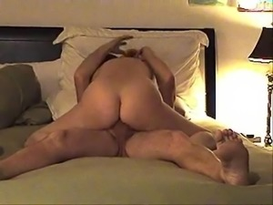 Soccer mom rides cock and moans