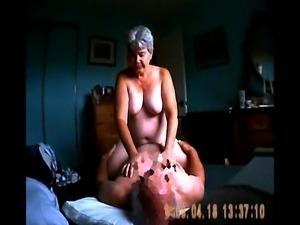 Unaware wife fucking on hidden cam