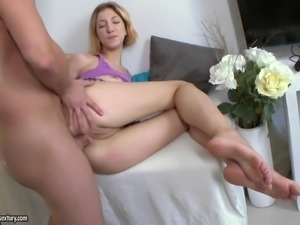 Milana doesn't know too much about sex, but all she knows, is that she is...