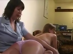 OTK spanked while in Bikini