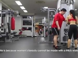 Korean Bodyfitness girl Lee J. interview