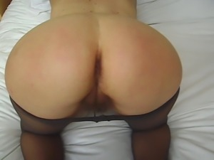 Massive Firm Pantyhose Ass Gets Spanked and Groped