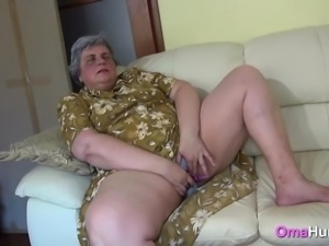 Granny Takes Care Of A Horny Teen