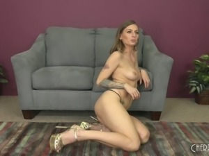 Skinny Natasha Starr loves only the most hardcore pussy banging