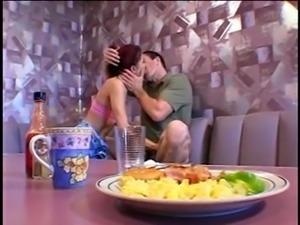 STP Asian Waitress Makes It Up To Him !