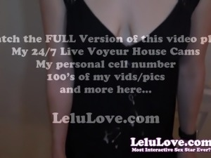 Lelu Love-CFNM POV Blowjob Cumshot On Dress