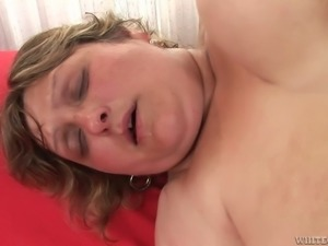 Fat ugly momma Zuzana A getting fucked by young dude
