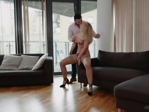 My boss fired me, so I seduced his wife, fucked her hard and sent this video...