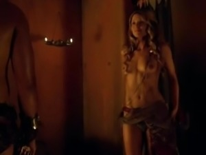 Spartacus sex scenes complication