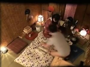 Insatiable Japanese housewife fucks a throbbing pole every