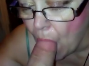 Sucking my man