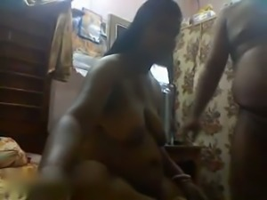 Dude is happy to eat his busty Bengali babe and fuck her