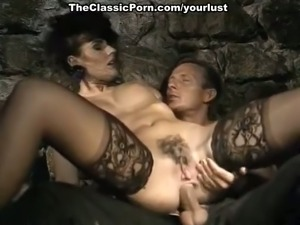 Exquisite retro porn video with hot brunette milf slag