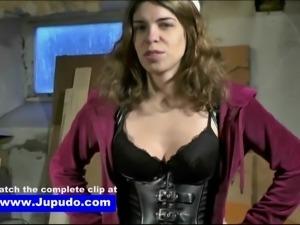 Punished & Fucked - Jupudo.com - Tied up Damsel