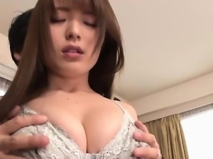 Asian Yuino is hungry for big dick