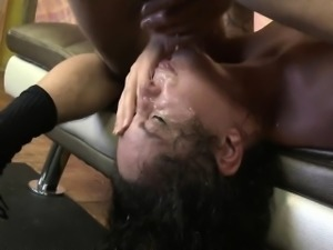 Victoria Monet shocking deepthroating