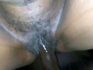 Fucking hairy thick granny an cumming