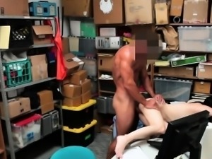 Sexy babe Alex Harper pays the pussy price for shoplifting