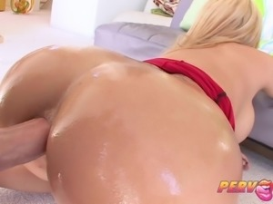 PervCity Big Booty Blonde Gets Her Anal Fix