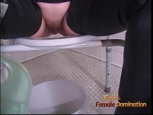 Naughty bitches enjoy making some kinky BDSM porno sex scene