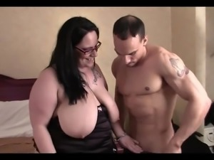 BBW Takes it in All Holes